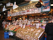Pike Place Fish Market on Pike Place Fish Market   Wikipedia  The Free Encyclopedia