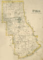 Pike Township, Warren County, Indiana map from 1877 atlas.png