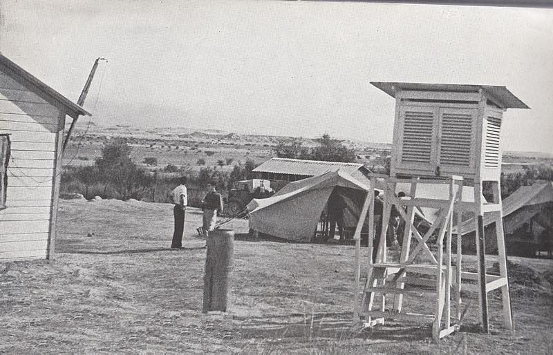 תחנה מטאורולוגית בערבה