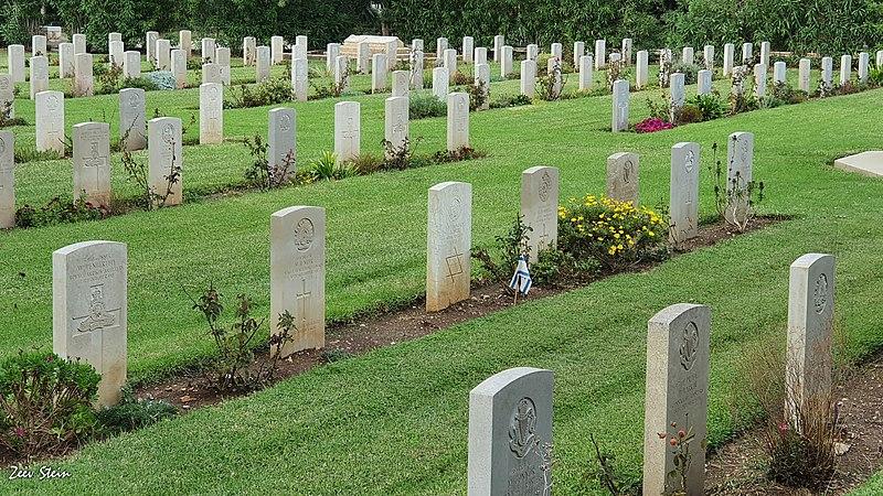 חיפה - בית קברות בריטי
