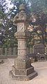 Pillar at Iimori-yama.JPG