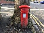 Pillar box outside 81 Ninian Road, Cardiff, March 2019 02.jpg