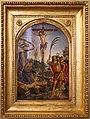 Pinturicchio (attr.), crocifissione tra i ss. cristoforo e girolamo, ante 1473, 01.jpg