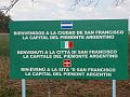 Placard piemontèis a San Fransesch an Argentin-a.jpg