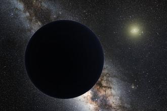 Planet Nine - Image: Planet nine artistic plain