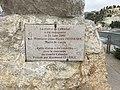 Plaque inauguration de la statue du Calendal à Cassis (France) - 2.jpg