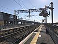 Platform of Chikugo-Funagoya Station (Kagoshima Main Line) 4.jpg