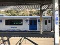 Platform of Kashii Station and train of Kashii Line 2.jpg