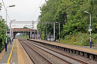 Holmes Chapel railway station - Holmes Chapel railway station in 2015