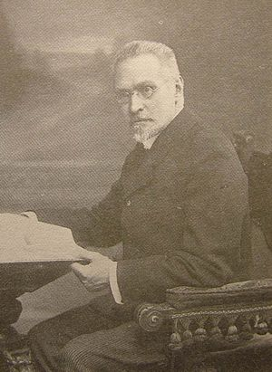 Sergey Platonov - Sergey Platonov in 1913. Photo by Karl Bulla