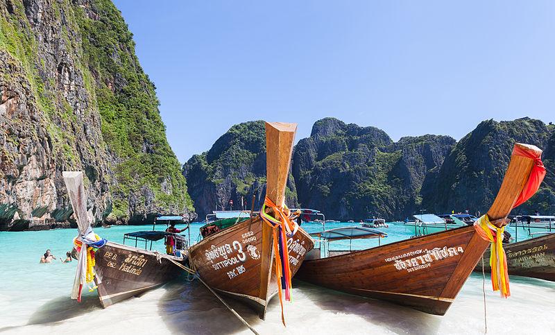 pláže na Ko Phi Phi, Thajsko