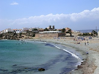 Tabarca - A view of Tabarca beach.