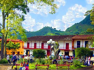 Department in Andean Region, Colombia