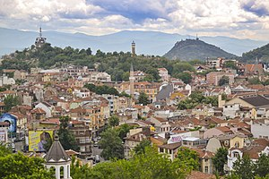Plovdiv - Image: Plovdiv view
