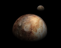 Pluto and Charon from New Horizons (Celestia Render).png