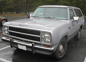 Dodge Ramcharger - Plymouth Trail Duster
