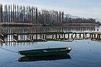 Poertschach Johannes-Brahms-Promenade Ruderboot Bruecke Blumeninsel 13122015 9763.jpg