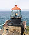 Point Sur Light Station %E2%80%93 lantern room from above