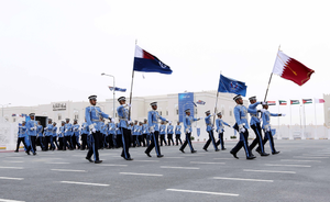 Police College (Qatar) - A Parade by students of Police College in Qatar