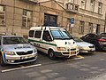 Police car in Prague - Voiture de police dans Prague - CZ Praha 05.jpg