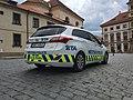 Police car in Prague - Voiture de police dans Prague - CZ Praha 10.jpg