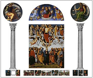 <i>San Pietro Polyptych</i> painting by Perugino