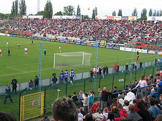 Stadion Widzewa - Old ground