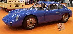 Porsche 356/B Carrera GTL Abarth