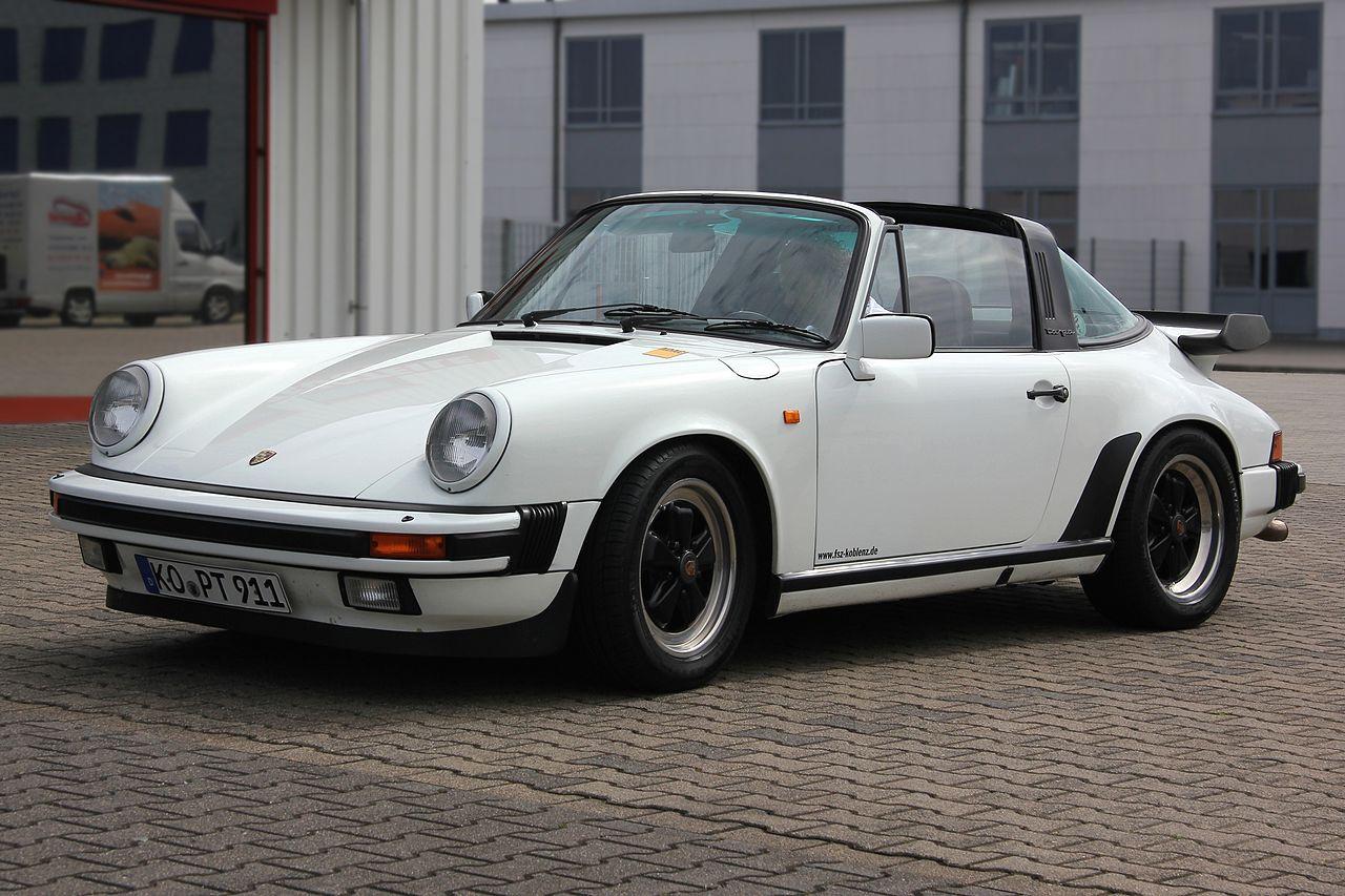 Porsche 911 Turbo >> File:Porsche 911 Carrera Targa, Bj. 1984 (2012-06-10 Sp ...