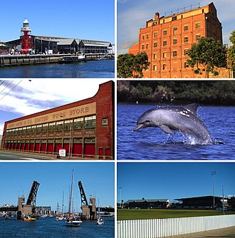 Port Adelaide - Image: Port Adelaide montage 2