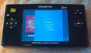 Portable Media Center - Zen Portable Media Center