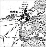 The first telegraph links in Europe