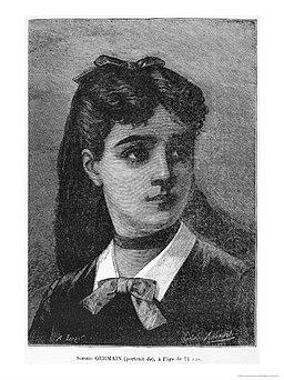 Portrait Sophie Germain