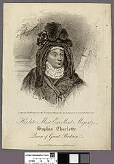 Her most excellent majesty Sophia Charlotte Queen of Great Britain