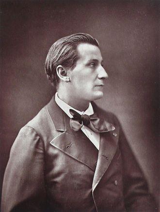 François Coppée - François Coppée, by Nadar, c. 1880.