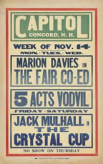 <i>The Fair Co-Ed</i> 1927 film by Sam Wood