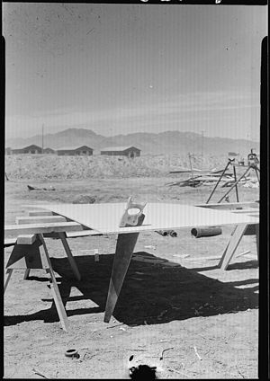 Ibex Peak (Arizona) - View of Ibex Peak (at left)  from Poston, Arizona