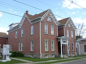 Coudersport Historic District - Image: Potter County Historical Society Coudersport PA Jun 09