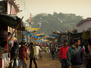 Poush Mela - Shoppers at the Poush Mela Fair