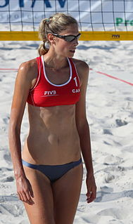 Sarah Pavan Canadian volleyball and beach volleyball player