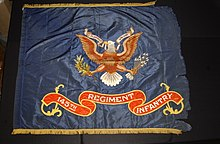 Pre-1928 Regimental Colors of the 145th Infantry Regiment