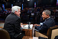 "President Barack Obama joins Jay Leno for a taping of the ""The Tonight Show with Jay Leno"".jpg"