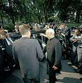 President John F. Kennedy Bids Farewell to President Dr. Sarvepalli Radhakrishnan of India (2).jpg