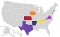 Presidential Candidate Home State Locator Map, 1996 (United States of America).png