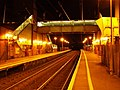 Prestwick Airport railway station at night.jpg