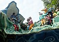 Primates, pigs, goose, bears in animal parade at Haw Par Villa (14770865246).jpg