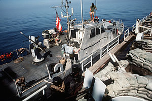Operation Prime Chance - Image: Prime Chance Wimbrown 7Patrol Boat