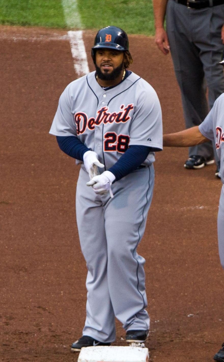 Prince Fielder on July 13, 2012