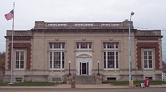 Princeton, Indiana - Princeton's Post Office, erected 1913