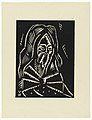 "Print, Svaty Simeon, Saint Simeon, Plate VI, ""Ethiopie, cili Christos, Madonna a Svati, jak jsem ie videl v illuminacich starych ethiopskych kodexu"" Portfolio, 1920 (CH 18684921).jpg"